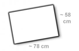 Format 78x58cm