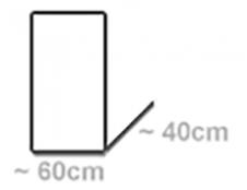 für Wägen 60x40cm